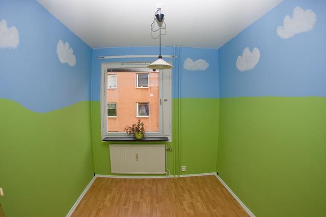 Att måla ett barnrum Fotosidan