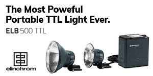 Elinchrom ELB 500 TTL - The Most Powerful