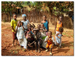 Barn i afrika