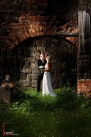 Wedding by the ruins..