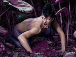 The Purple Reptile Woman