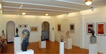 Lysekil´s Art Gallery together with sculptress Maria Vallgren.