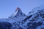 Matterhorn, Schweiz (Tobleroneberget)