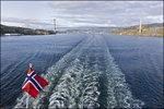 Avfärd från Bergen/Departure from Bergen