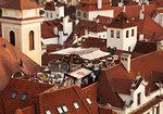 Takrestaurang i Prag
