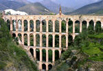Acueducto del Aguila i Spanien en Romersk Akvedukt 1979