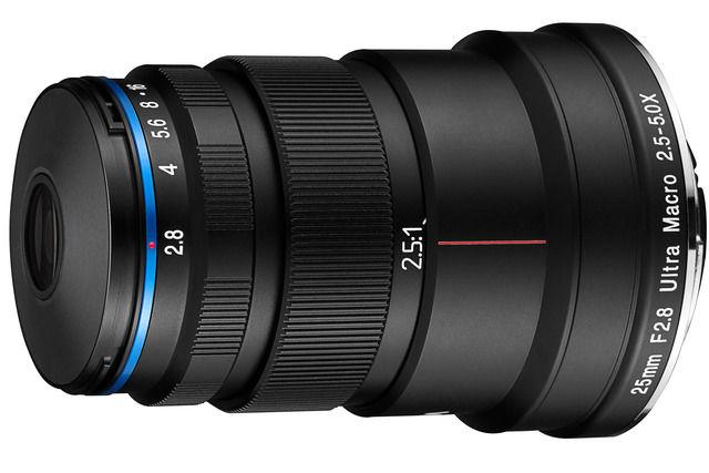 Laowa 25 mm f/2,8 2,5-5X Ultra-Macro