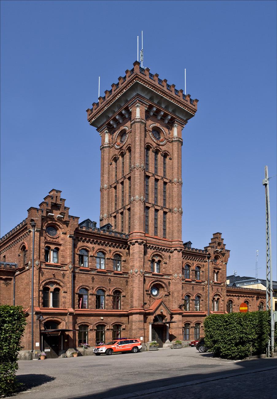 fin byggnad med anor från 1702
