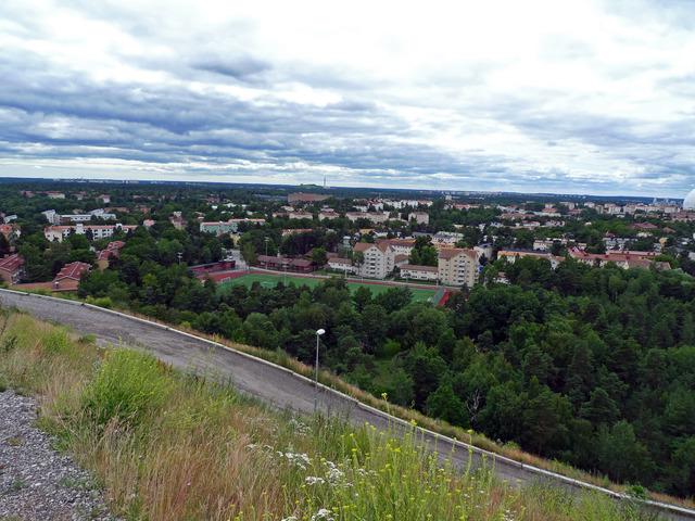 Vägen från Idrotsplatsen till Hammarbybacken P1020302