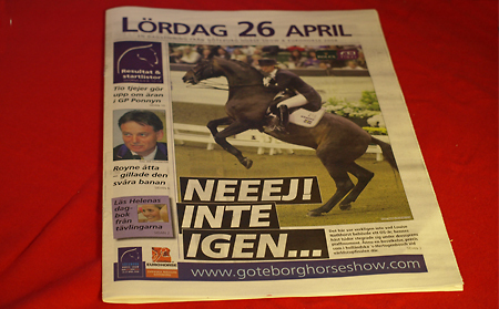 Lördagens program
