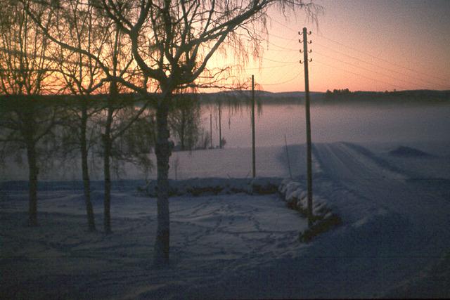 069 Vintermorgon Lillåkern 1969