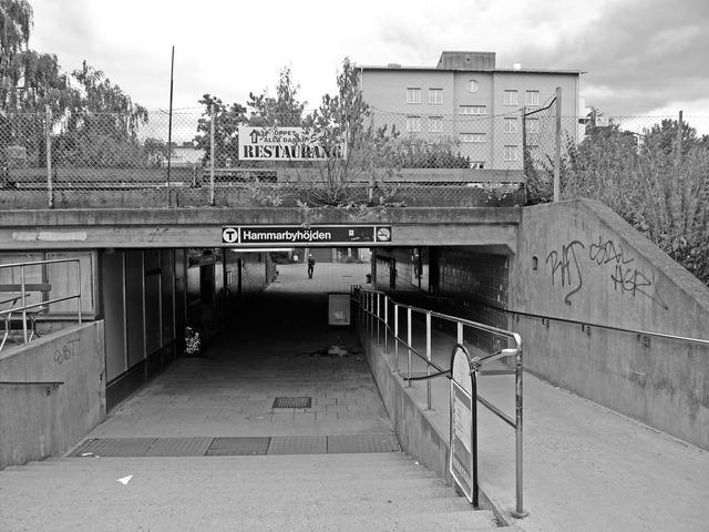 Hammarbyhöjdens tunnelbanestation