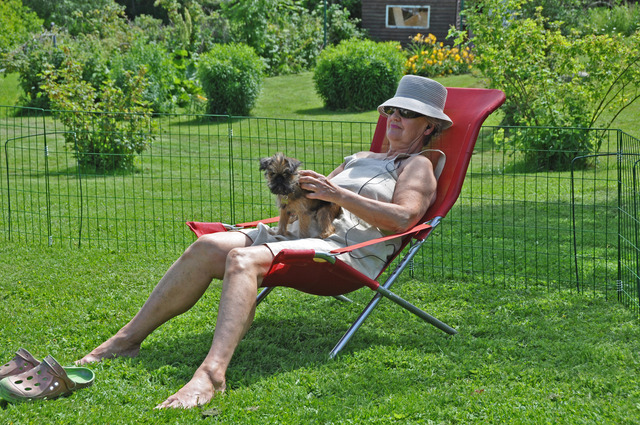 Margaret och Dennis sommaren 2015 DSC_0619