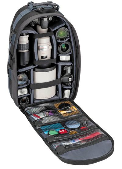 Ryggsäcken med plats för teleobjektiven Fotosidan