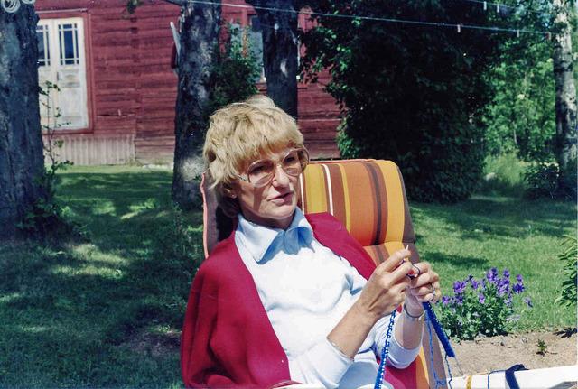 Lena på Drabo sommaren1982 031