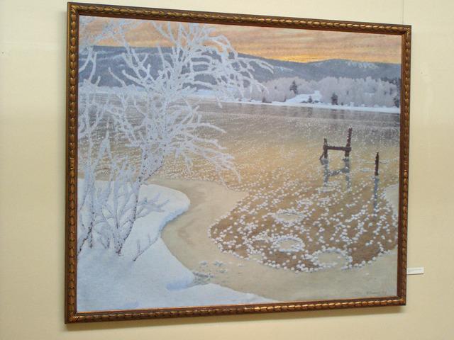 Ett av många konstverk av Gustav Fjaestad