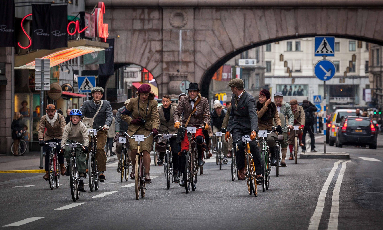 Bike in Tweed 2013 - Sweden - Stockholm