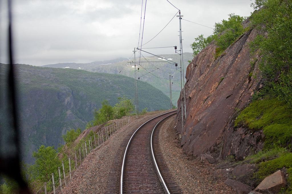 tåg narvik riksgränsen