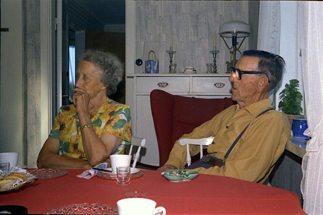 Olle och Tyra på Drabo 1970
