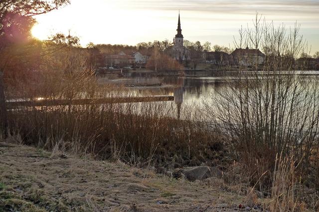 P1040510 Lindesbergs Kyrka och Lindesjön
