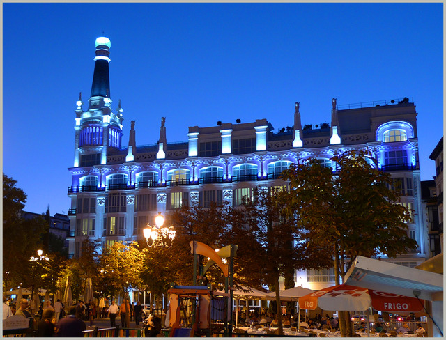 Madrid dag och natt fotosidan for Av puerta del sol