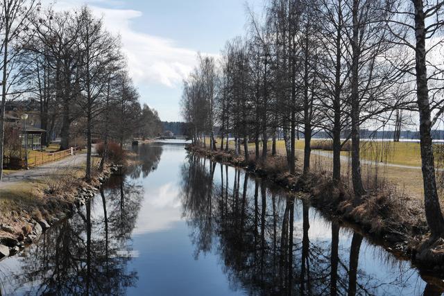 Bottenån och Strandpromenaden i Lindesberg P1030139