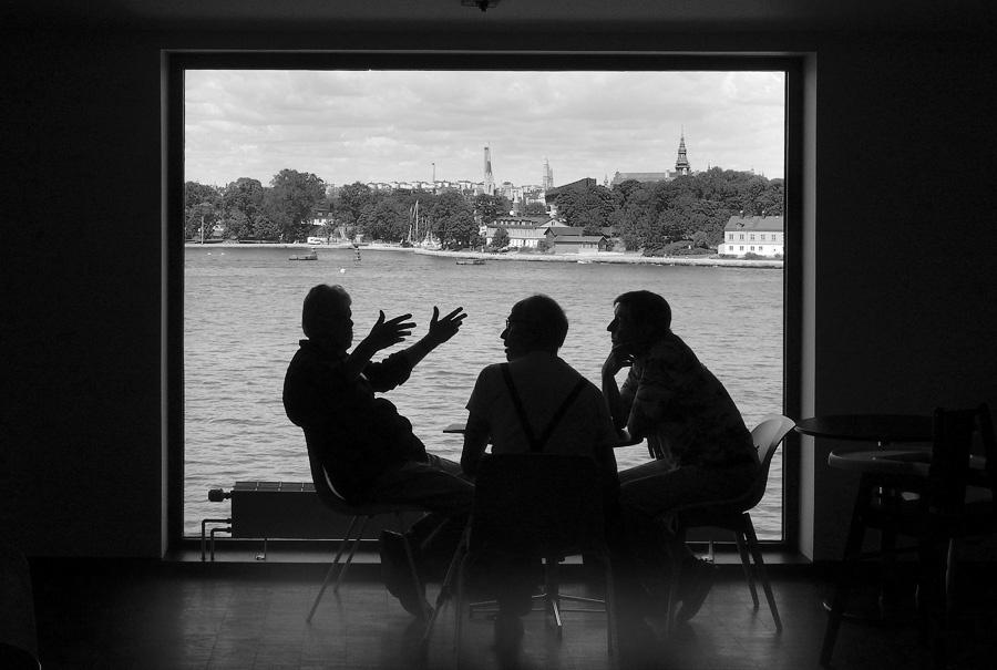 rena tysk stora tuttar nära Stockholm