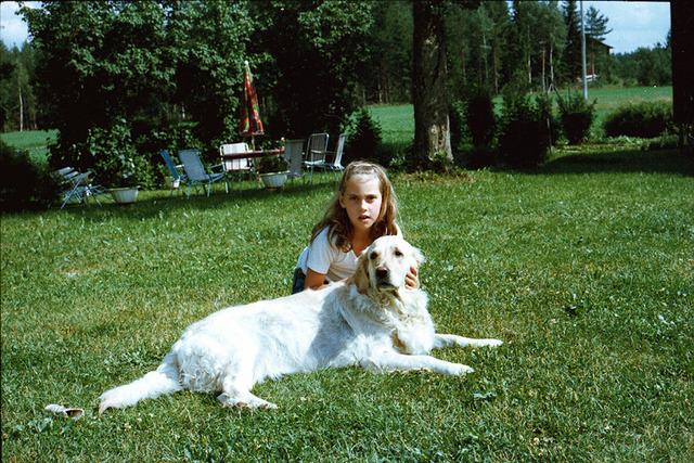 084Heléne och Lotta på Drabo 1978