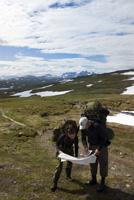 Kartläsning i Jämtlandsfjällen