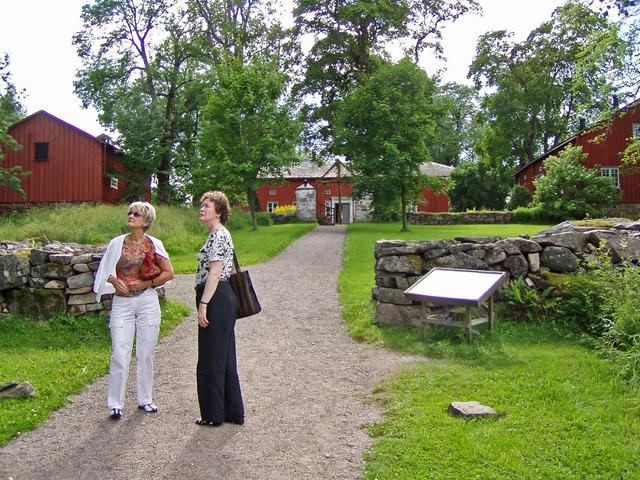 Besök på Echstedska Gården