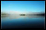 En ö i dimman