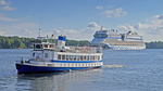 Pendelbåten Kung Ring i Stockholm