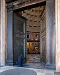 Porten inn til Pantheon