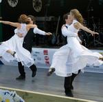 Dansupvisningen