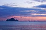 Thailändsk solnedgång
