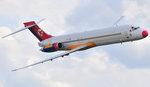 MD-87 över Roskilde