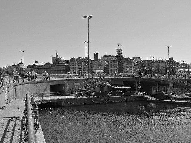 Slussen-sett från Kornhamnstorg 2009