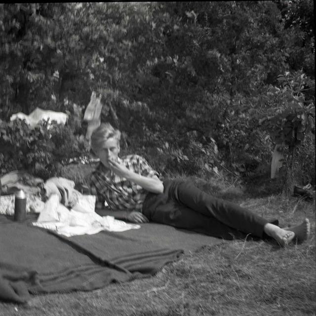 På semester i Karlskrona 1953