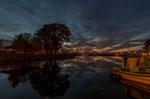 Solnedgång i Sjötorp