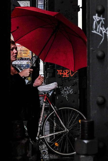 Det röda paraplyet