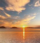Solnedgång vid Kolvereid