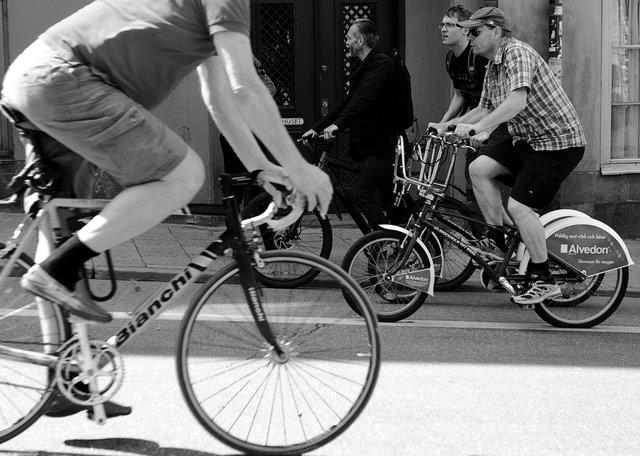 Cyklisterna