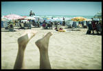 En dag på stranden