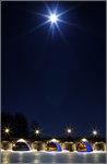 Stenbron om natten
