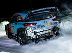 Blandat Rallybilar från WRC 2018