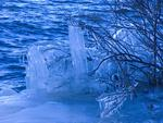 Naturens isskulptur, med mer dramatiserad vitbalans