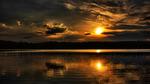Sunset At Sisjön