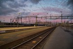 I väntan på tåget