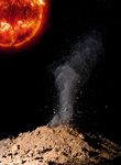 Vulkanutbrott på Merkurius
