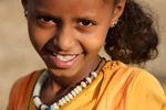 Etiopisk flicka